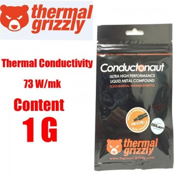 Thermal Grizzly CONDUCTONAUT Liquid Metal Thermal Compound