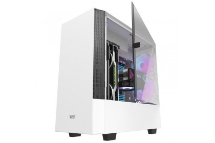 Aigo Darkflash DLV22 ATX Tempered Glass Casing (WHITE)