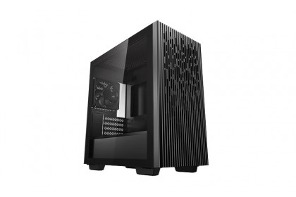 Deepcool Matrexx 40 Tempered Glass Micro-ATX Casing With 1 Units 12CM Black Fan